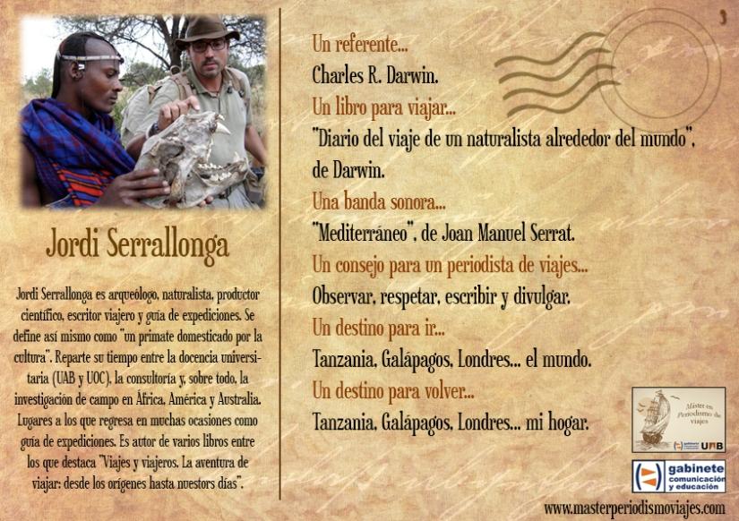 Postal Jordi Serrallonga