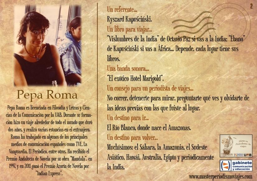 Postal Pepa Roma