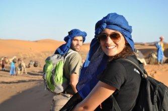 Periodistas de viajes en Marruecos